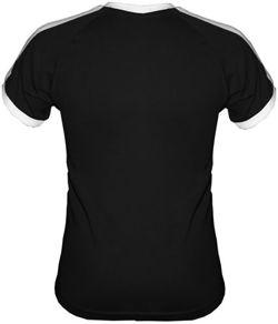 t-shirt FIT dowolny tekst- Czarny