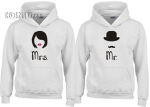 Zestaw bluz z kapturem Mrs. & Mr.