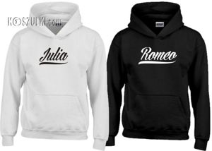 Zestaw bluz z kapturem Romeo & Julia