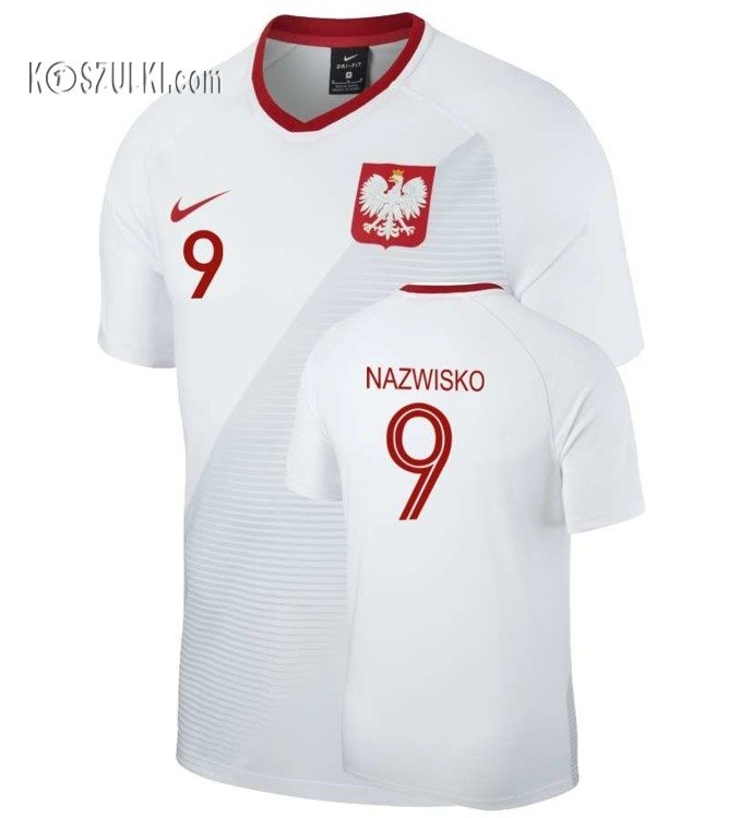 6fe63d6bbf2a Koszulka Reprezentacji Polski Oficjalna nike MŚ 2018