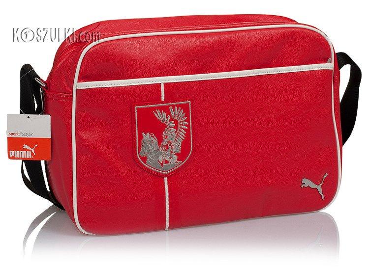 2cfa4d56fea64 Torba PUMA husaria na ramię Polska czerwona Czerwony