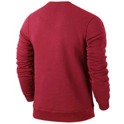 Bluza Nike team club crew czerwona /658681 657
