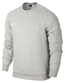 Bluza Nike team club crew szara/658681 050
