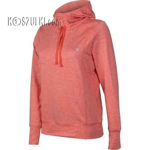 Bluza damska Outhorn Active Fit Hoodie W BLD613 różowa