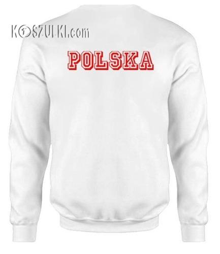 Bluza dziecięca Polska Małe Godło Biała