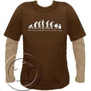 Bluza męska przedłużony rękaw Ewolucja