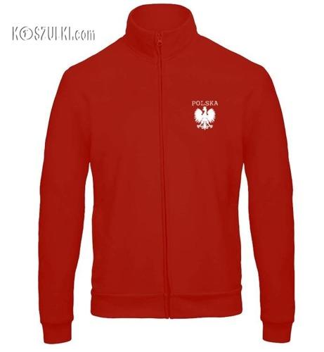 Bluza reprezentacji Polski męska ze stójką- mały orzeł