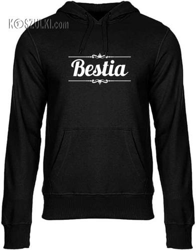 Bluza z kapturem Bestia