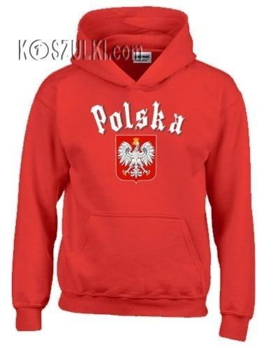 Bluza z kapturem dziecięca Polska Gotyk