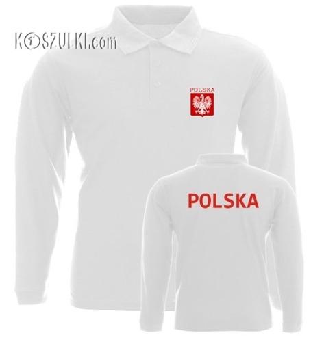 Koszulka Polo długi rękaw- Dziecko- POLSKA