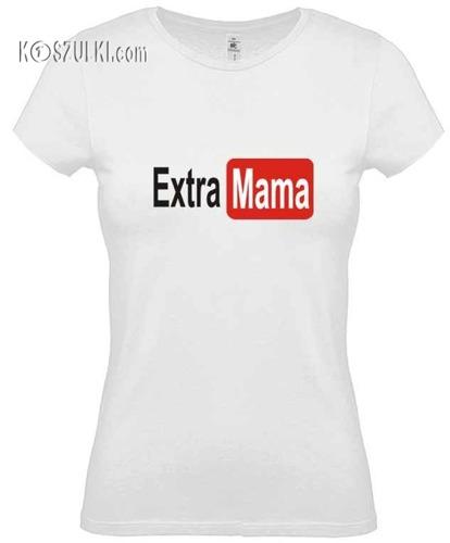 Koszulka damska Extra Mama