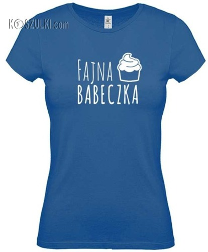 Koszulka damska Fajna babeczka