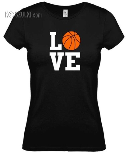 Koszulka damska Love basketball