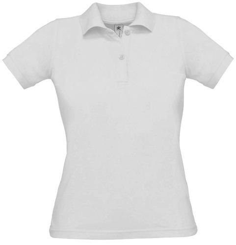 Koszulka damska POLO biała