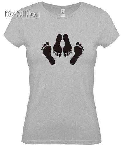 Koszulka damska Stopy