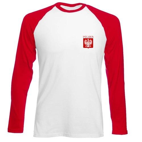 Longsleeve Męski - Polska + własne nazwisko
