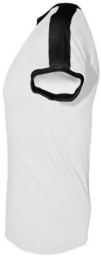 T-shirt Fit Fast Food Biały