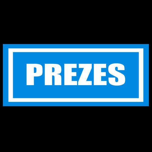 T-shirt Fit Prezes Czarny