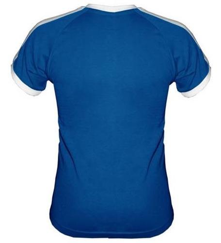 T-shirt Fit Open your ears Niebieski
