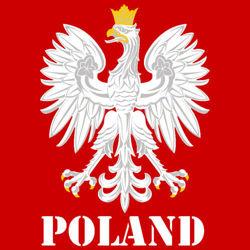 T-shirt Orzeł Fit Poland Czerwony