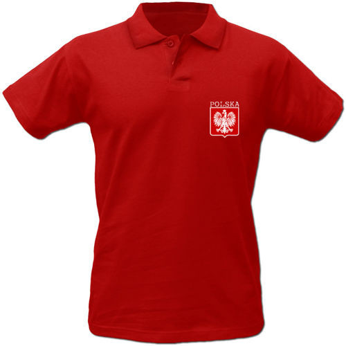 T-shirt Polo TP021 Polska małe godlo