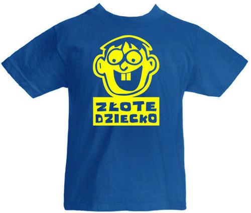 T-shirt dziecięcy Złote Dziecko