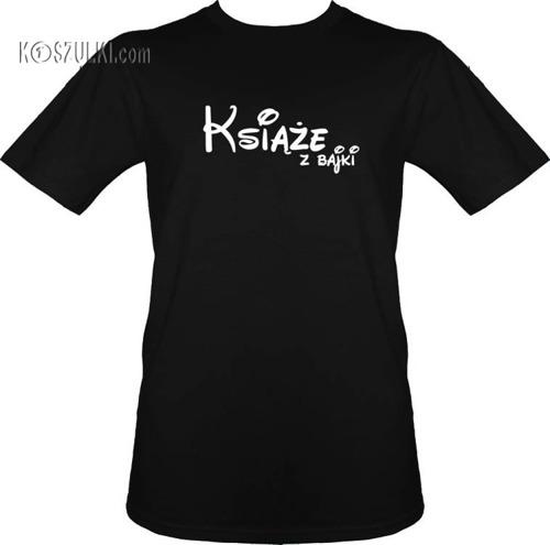 Koszulki dla pary-Zestaw Książęcy