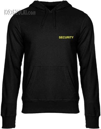 bluza z kapturem Security