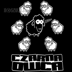 koszulka damska Czarna Owca