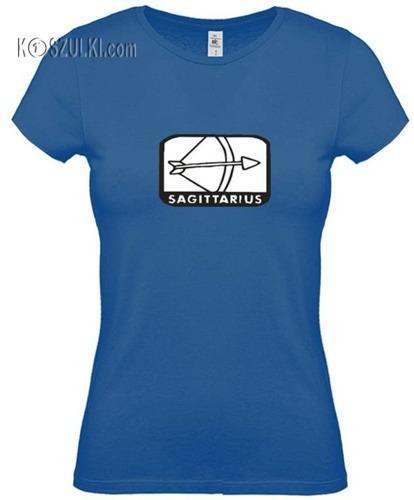 koszulka damska Strzelec znak zodiaku