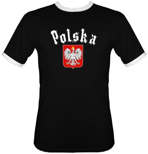 t-shirt 2K047 Polska Gotyk Czarny