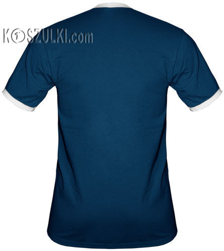 t-shirt 2K058 Polska Ludzik Granatowy