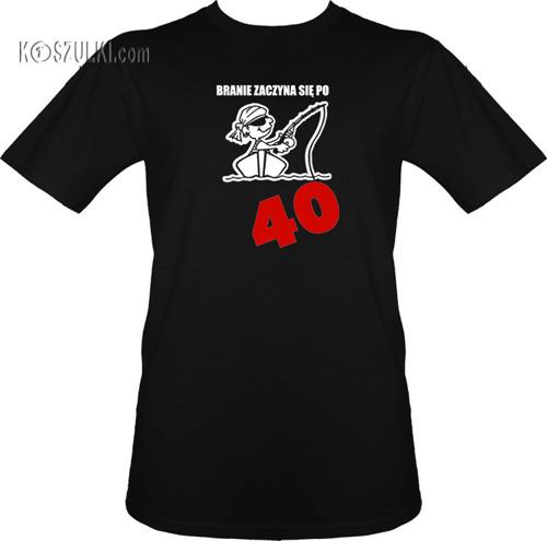 t-shirt Branie Zaczyna się Po 40