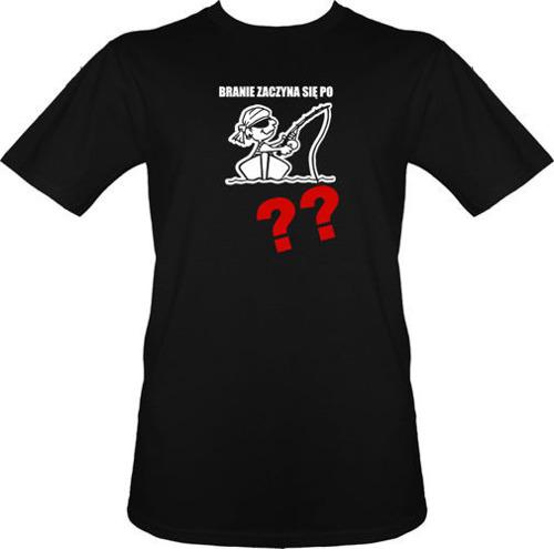 t-shirt Branie zaczyna się po...