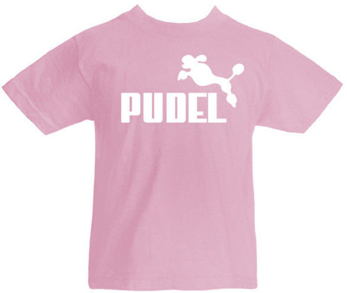 T-shirt dziecięcy-  Pudel