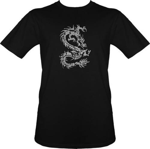 t-shirt DragonTATOO Szary