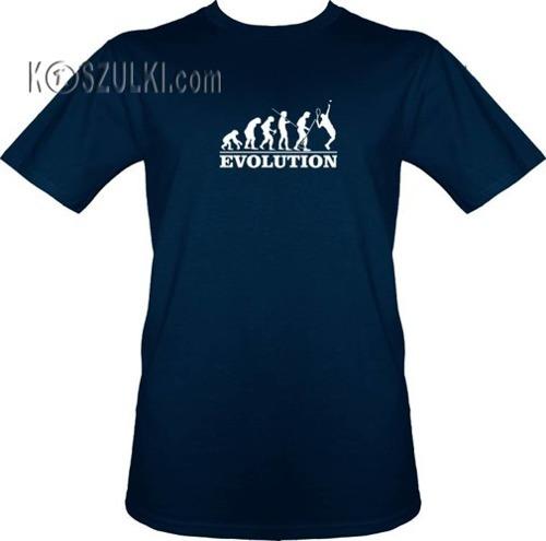 t-shirt Ewolucja Tenis
