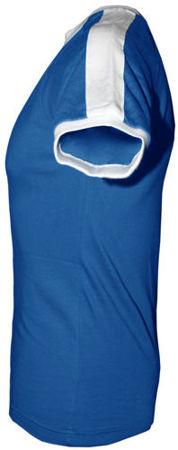 t-shirt Fit  z własnym nadrukiem Niebieski