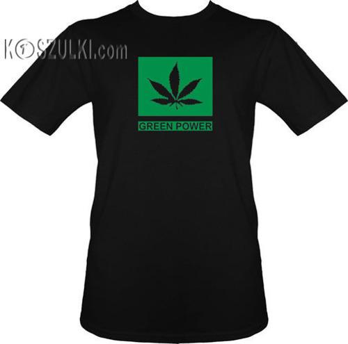 t-shirt Green  Power
