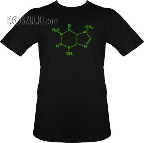 t-shirt KOFEINA-molekuły