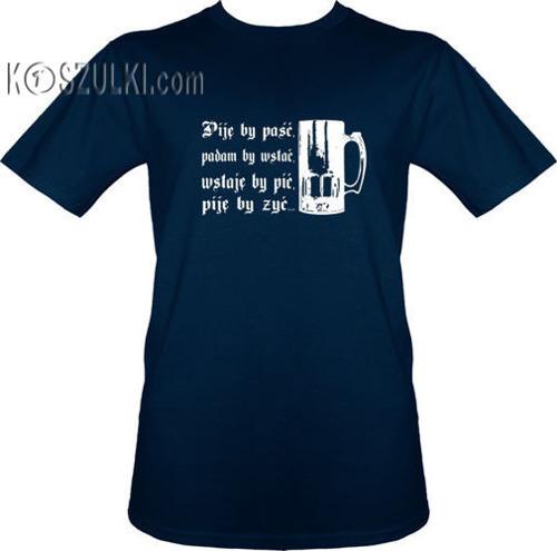 t-shirt Piję By Paść