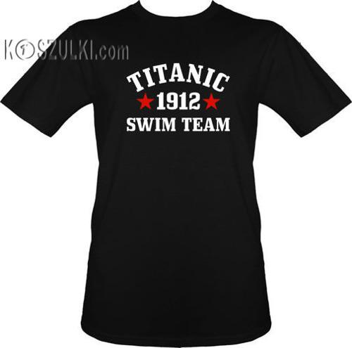 t-shirt Titanic Swim Team