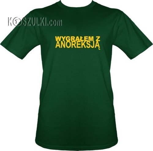 t-shirt Wygrałem z anoreksją