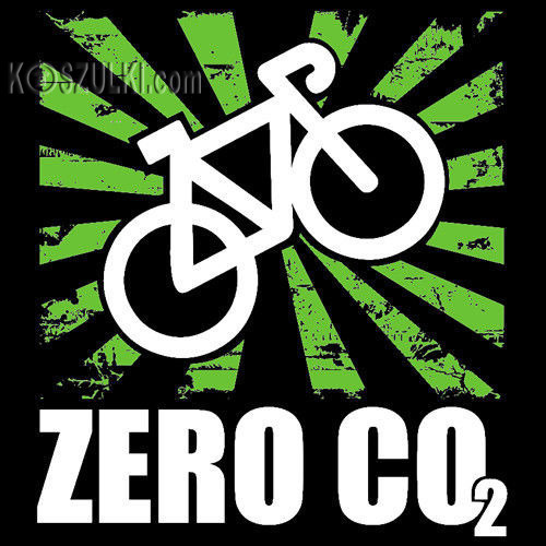 t-shirt Zero CO2