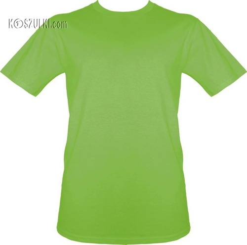 t-shirt bez nadruku Limonka